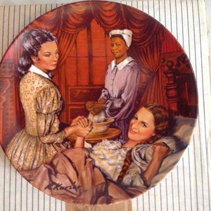 GONE WITH THE WIND COLLECTOR PLATE MELANIE